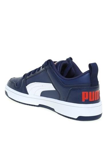 Puma Puma 37147403 Lacivert - Beyaz - Kırmızı Erkek Çocuk Yürüyüş Ayakkabısı Lacivert